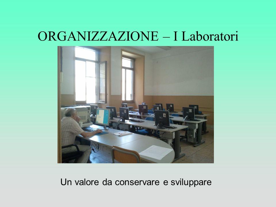 ORGANIZZAZIONE – I Laboratori