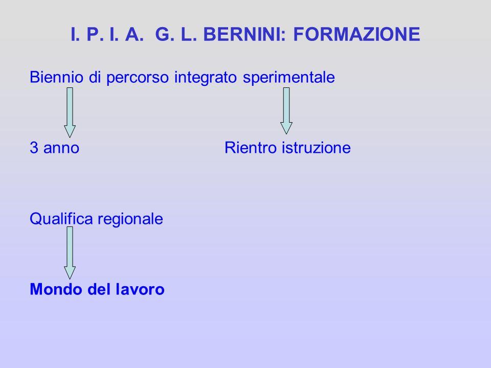 I. P. I. A. G. L. BERNINI: FORMAZIONE