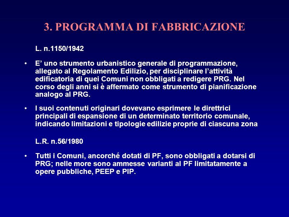 3. PROGRAMMA DI FABBRICAZIONE