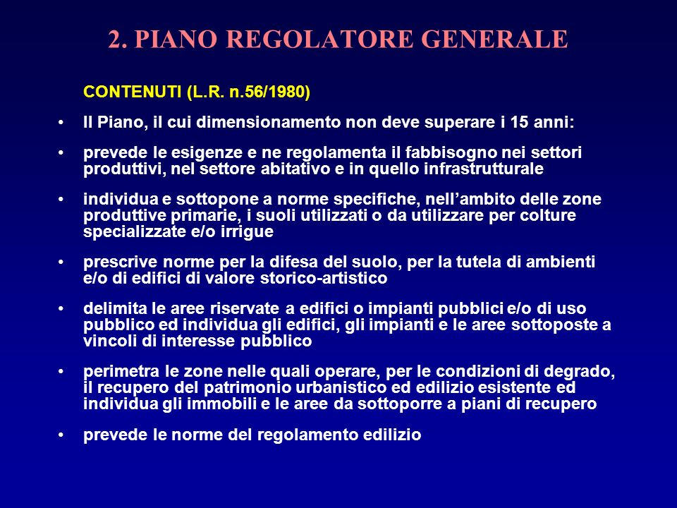 1 piano regolatore generale intercomunale 2 ppt scaricare for 2 piani di costruzione di edifici in metallo