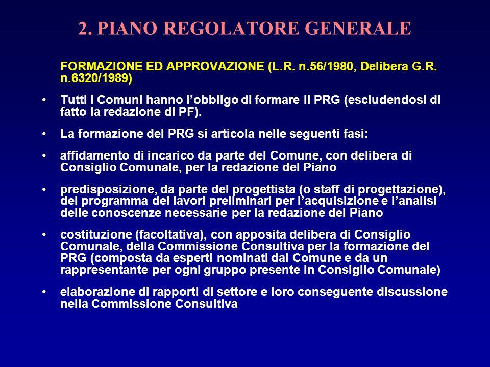 2. PIANO REGOLATORE GENERALE