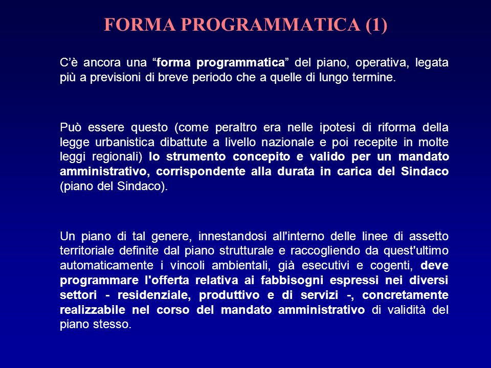 FORMA PROGRAMMATICA (1)
