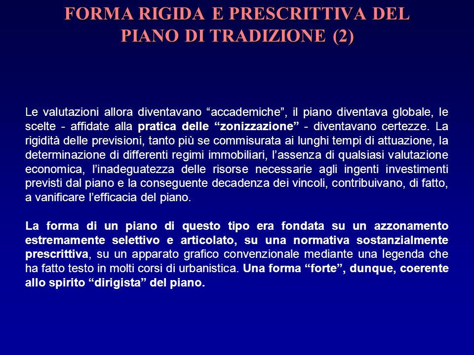 FORMA RIGIDA E PRESCRITTIVA DEL PIANO DI TRADIZIONE (2)