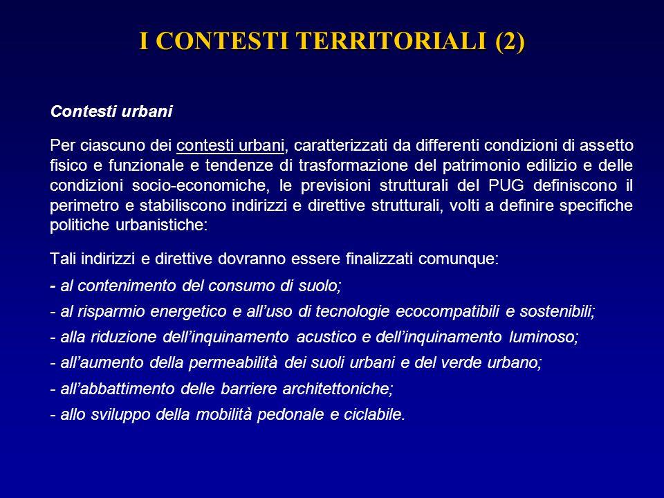I CONTESTI TERRITORIALI (2)