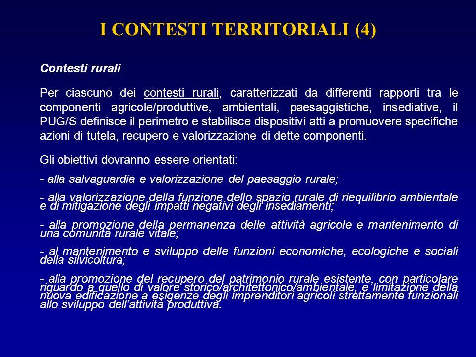 I CONTESTI TERRITORIALI (4)