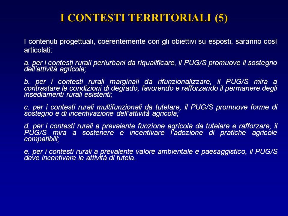 I CONTESTI TERRITORIALI (5)