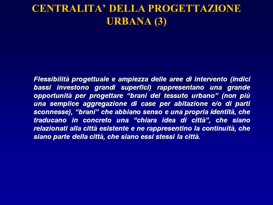 CENTRALITA' DELLA PROGETTAZIONE URBANA (3)