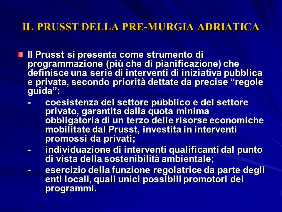 IL PRUSST DELLA PRE-MURGIA ADRIATICA