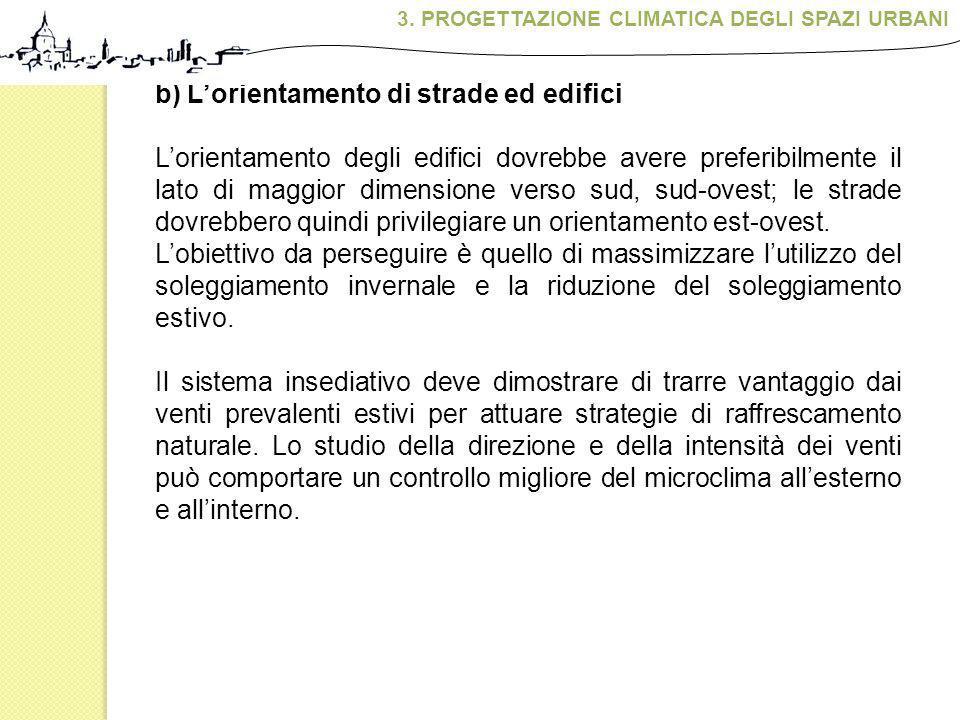 3. PROGETTAZIONE CLIMATICA DEGLI SPAZI URBANI