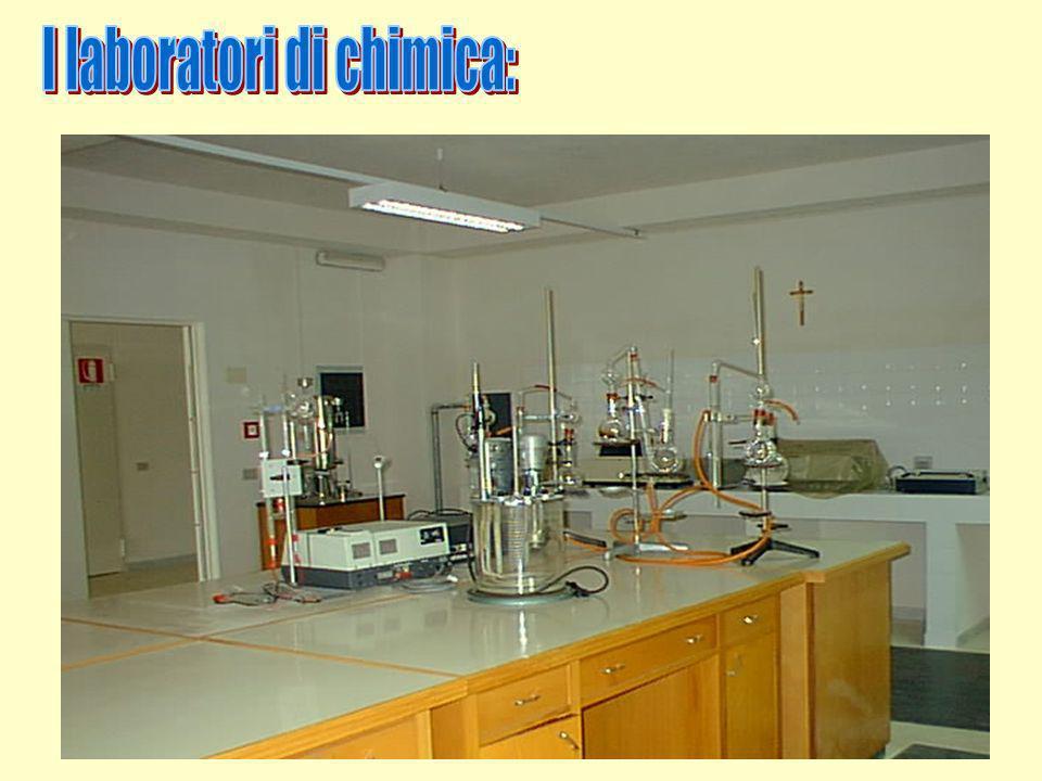 I laboratori di chimica: