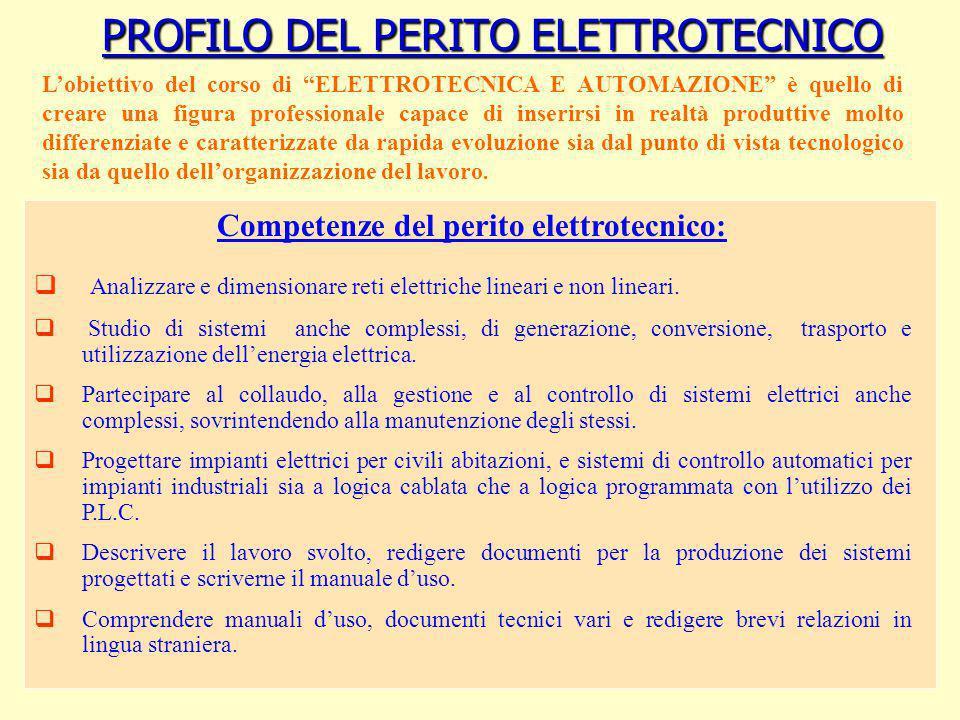 PROFILO DEL PERITO ELETTROTECNICO