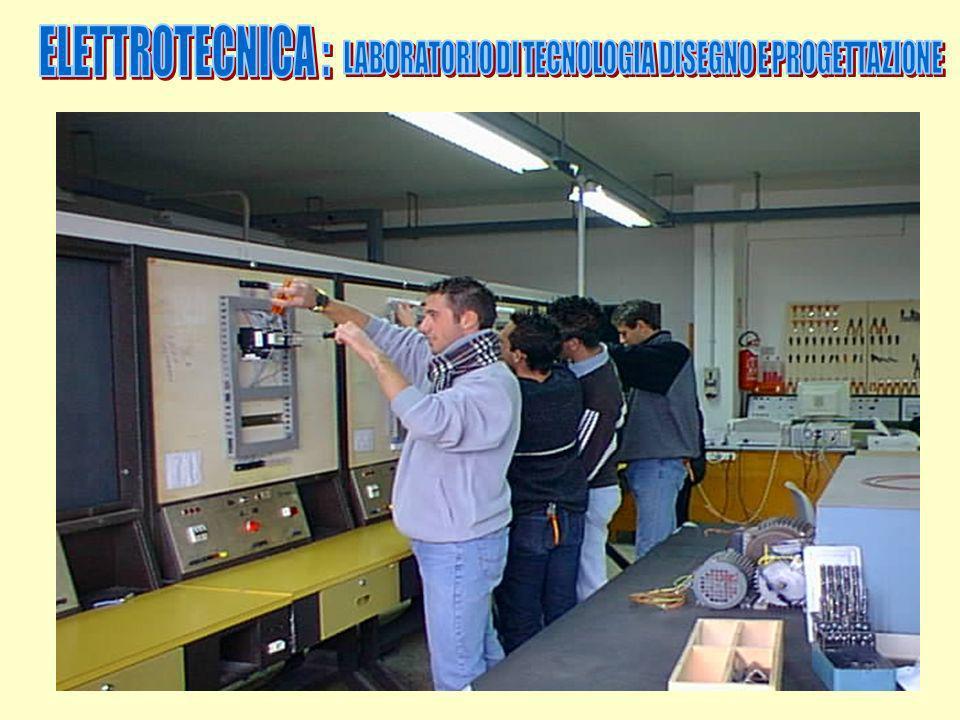 LABORATORIO DI TECNOLOGIA DISEGNO E PROGETTAZIONE