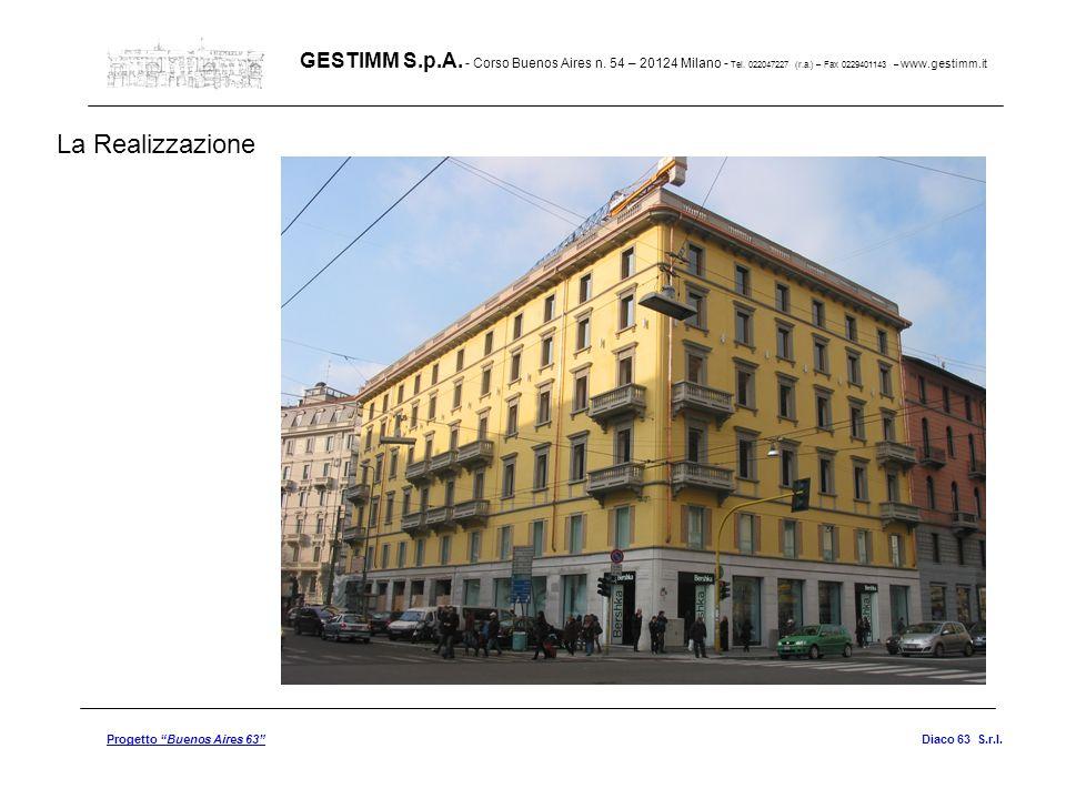 GESTIMM S. p. A. - Corso Buenos Aires n. 54 – 20124 Milano - Tel