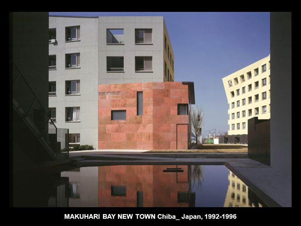 MAKUHARI BAY NEW TOWN Chiba_ Japan, 1992-1996