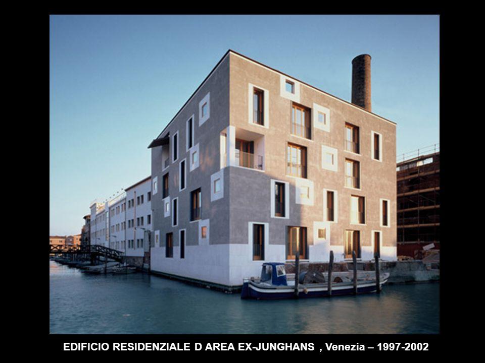 EDIFICIO RESIDENZIALE D AREA EX-JUNGHANS , Venezia – 1997-2002