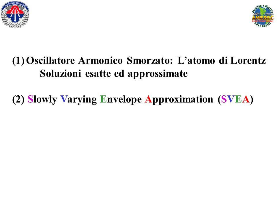 Oscillatore Armonico Smorzato: L'atomo di Lorentz