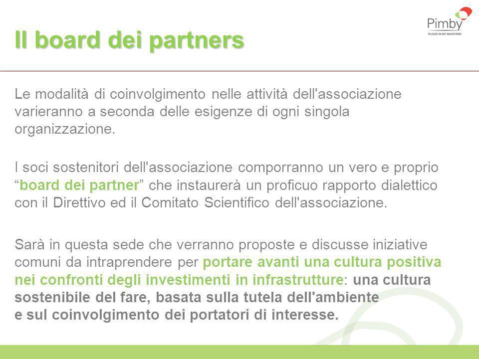 Il board dei partners