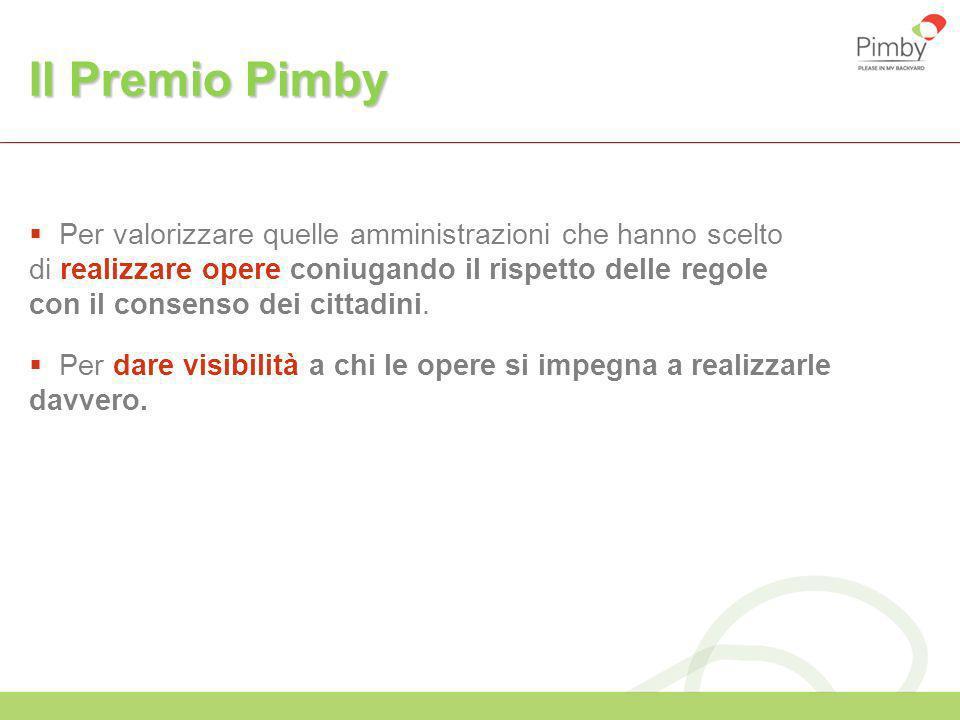 Il Premio Pimby