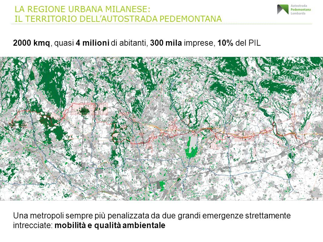2000 kmq, quasi 4 milioni di abitanti, 300 mila imprese, 10% del PIL