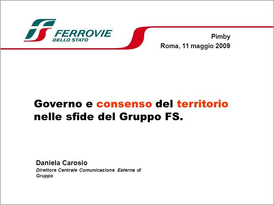 Governo e consenso del territorio nelle sfide del Gruppo FS.