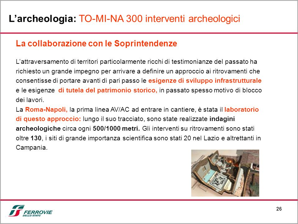 L'archeologia: TO-MI-NA 300 interventi archeologici