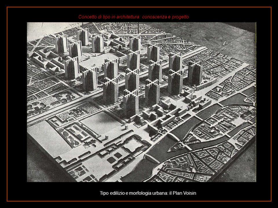 Tipo edilizio e morfologia urbana: il Plan Voisin