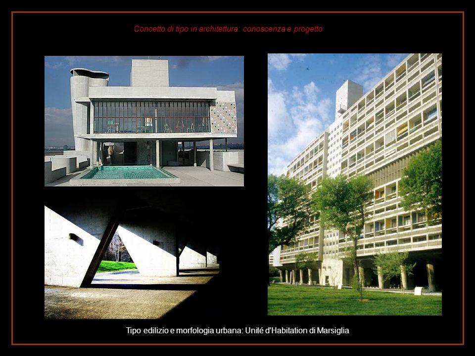 Tipo edilizio e morfologia urbana: Unité d Habitation di Marsiglia