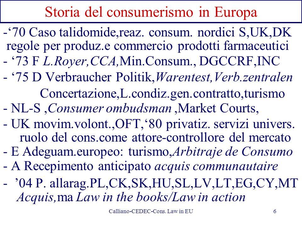 Storia del consumerismo in Europa