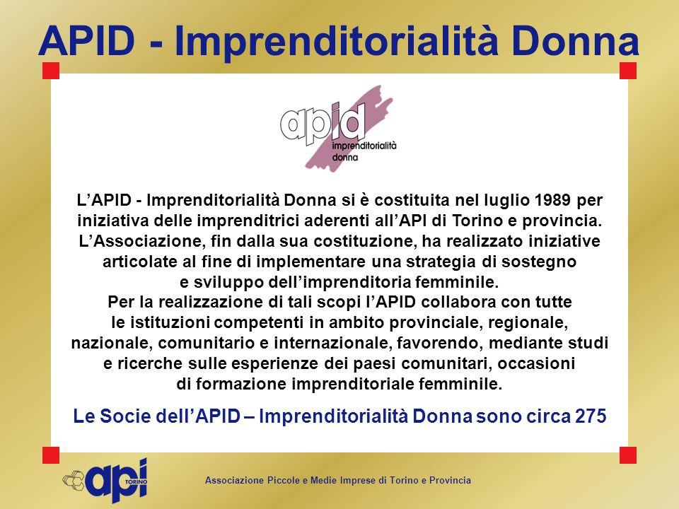 APID - Imprenditorialità Donna