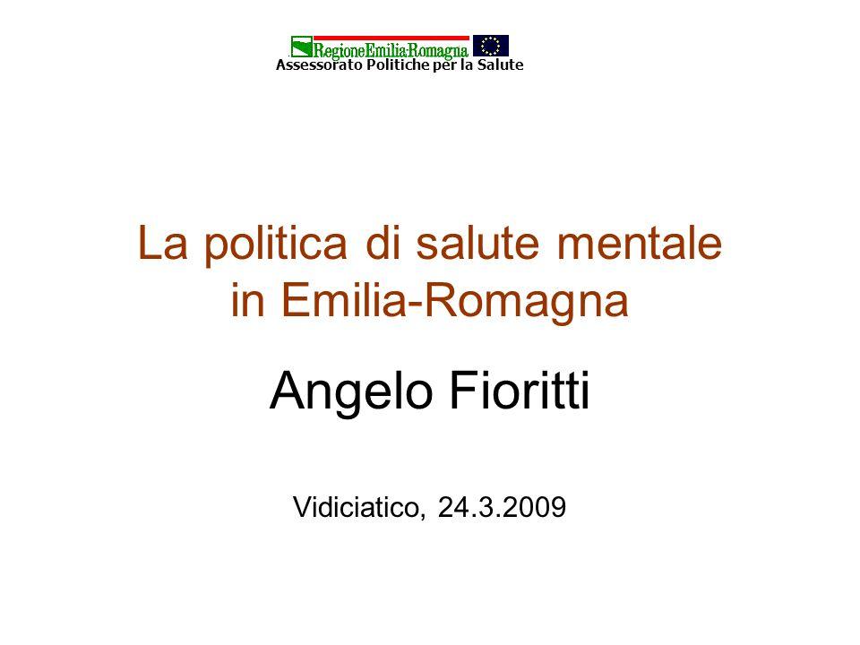 La politica di salute mentale in Emilia-Romagna