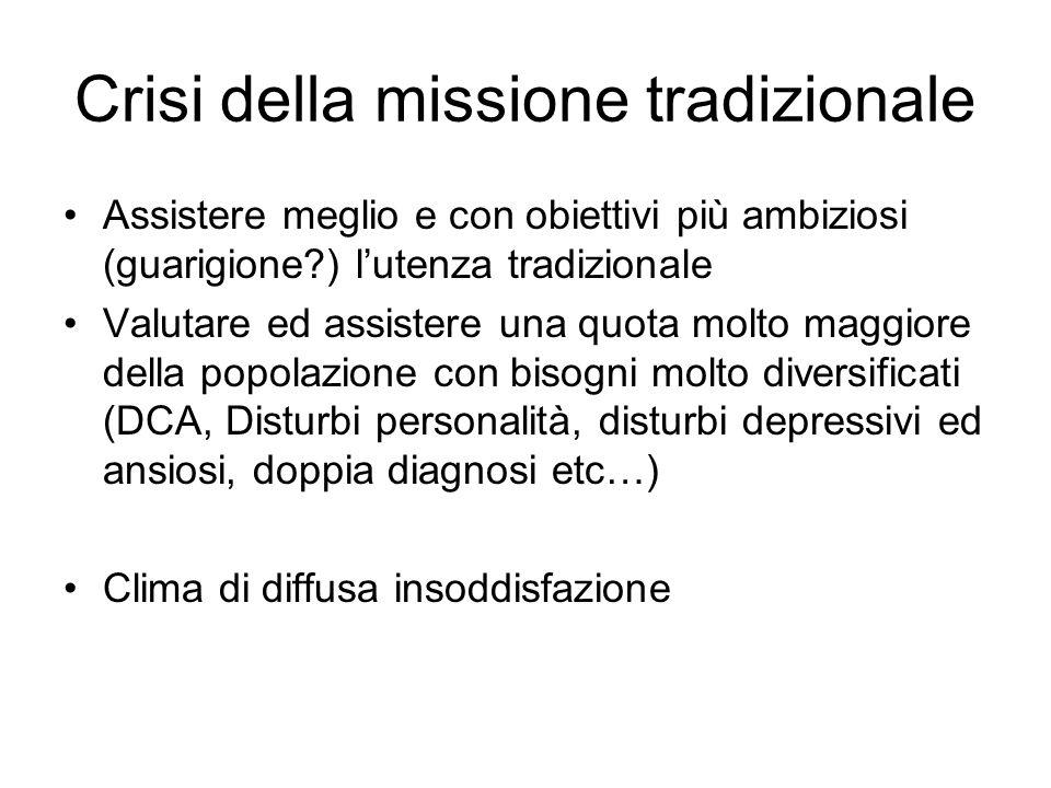 Crisi della missione tradizionale