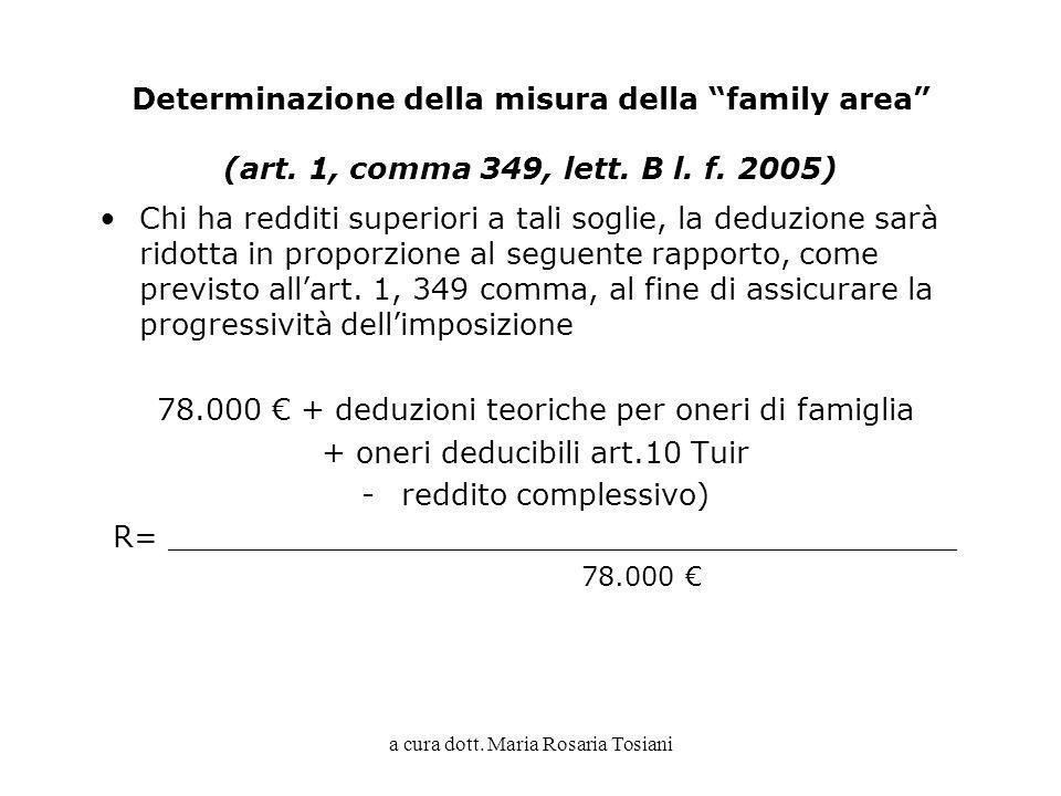 78.000 € + deduzioni teoriche per oneri di famiglia