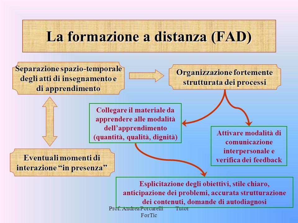 La formazione a distanza (FAD)
