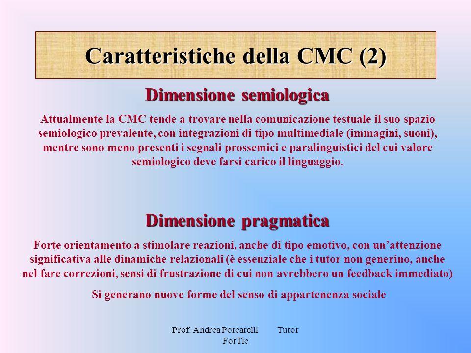 Caratteristiche della CMC (2)