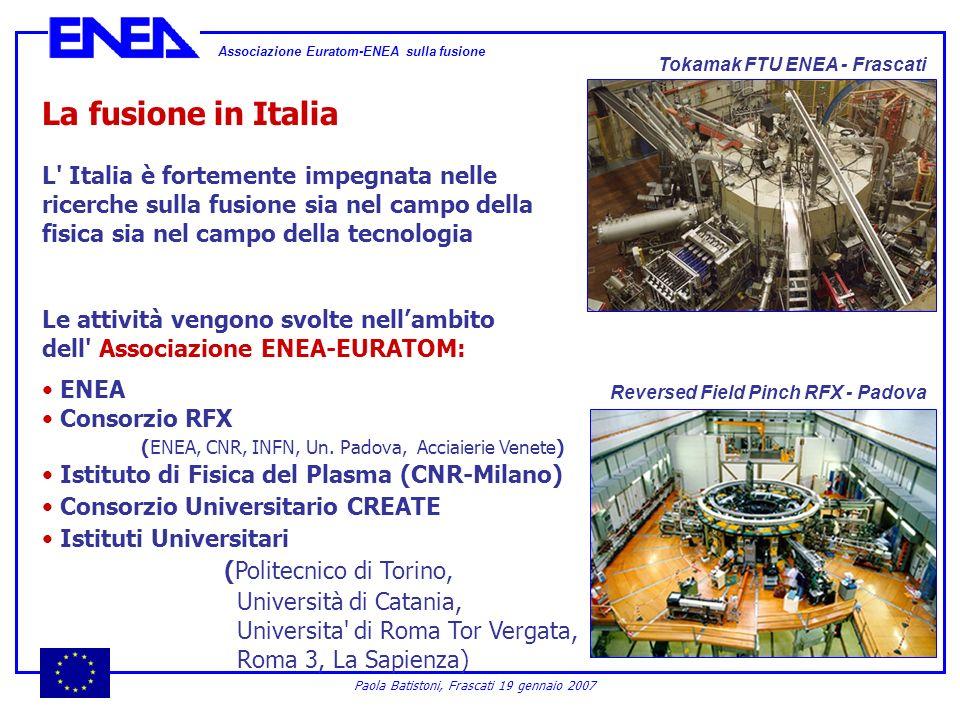 Associazione Euratom-ENEA sulla fusione