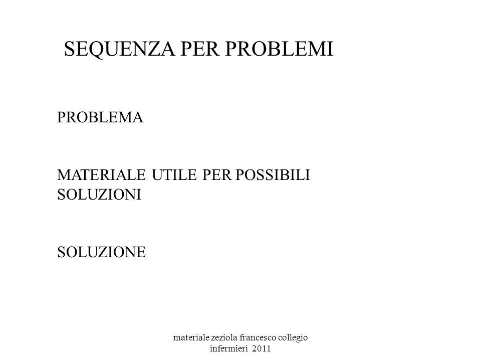 materiale zeziola francesco collegio infermieri 2011
