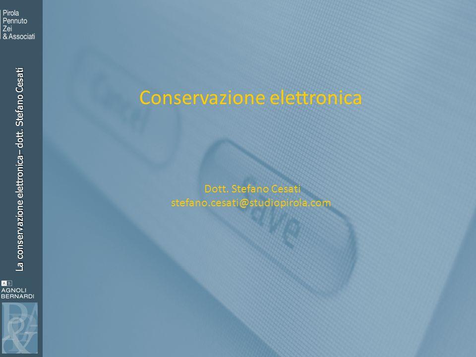 Conservazione elettronica