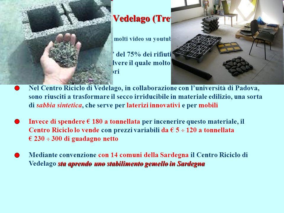 Il Centro Riciclo di Vedelago (Treviso): riciclo al 99%