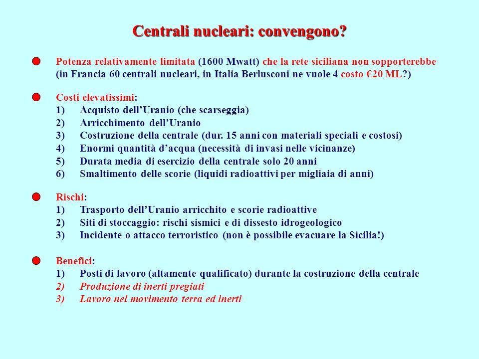 Centrali nucleari: convengono