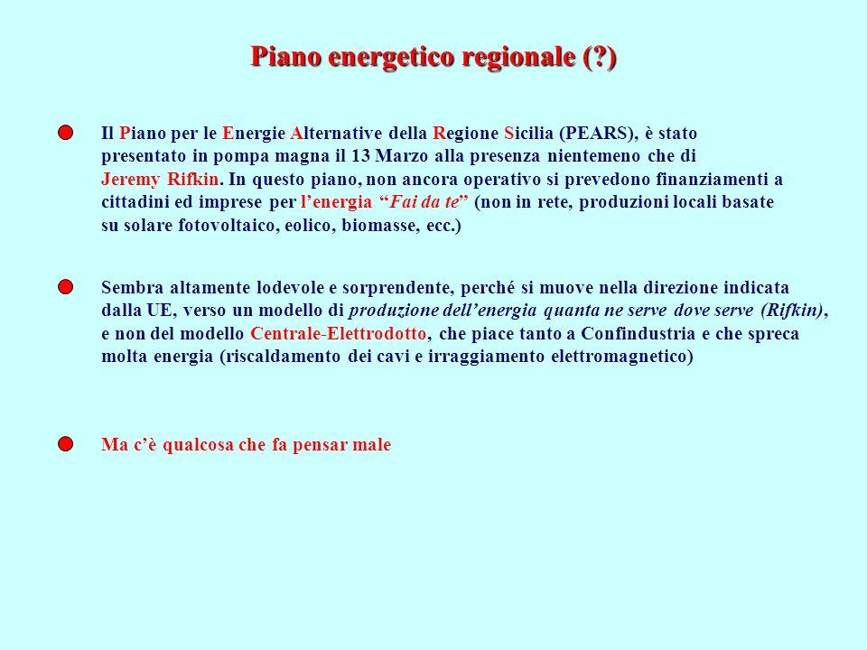 Piano energetico regionale ( )
