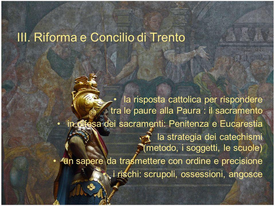 III. Riforma e Concilio di Trento