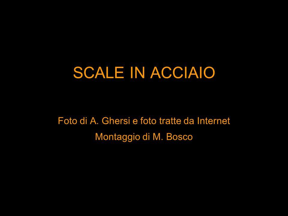SCALE IN ACCIAIO Foto di A