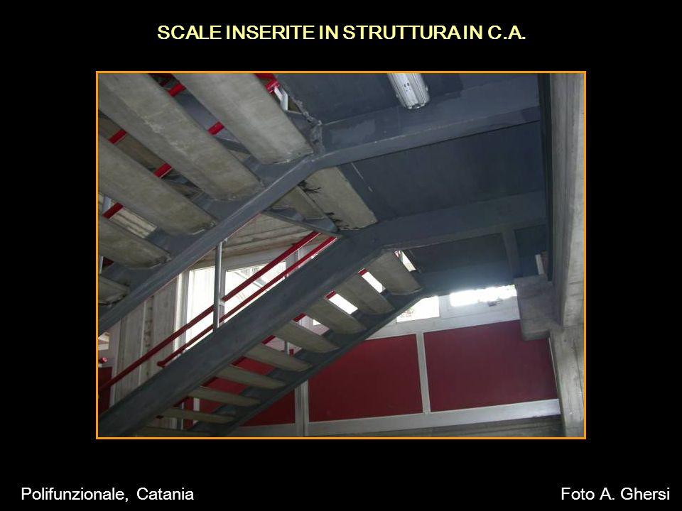 SCALE INSERITE IN STRUTTURA IN C.A.