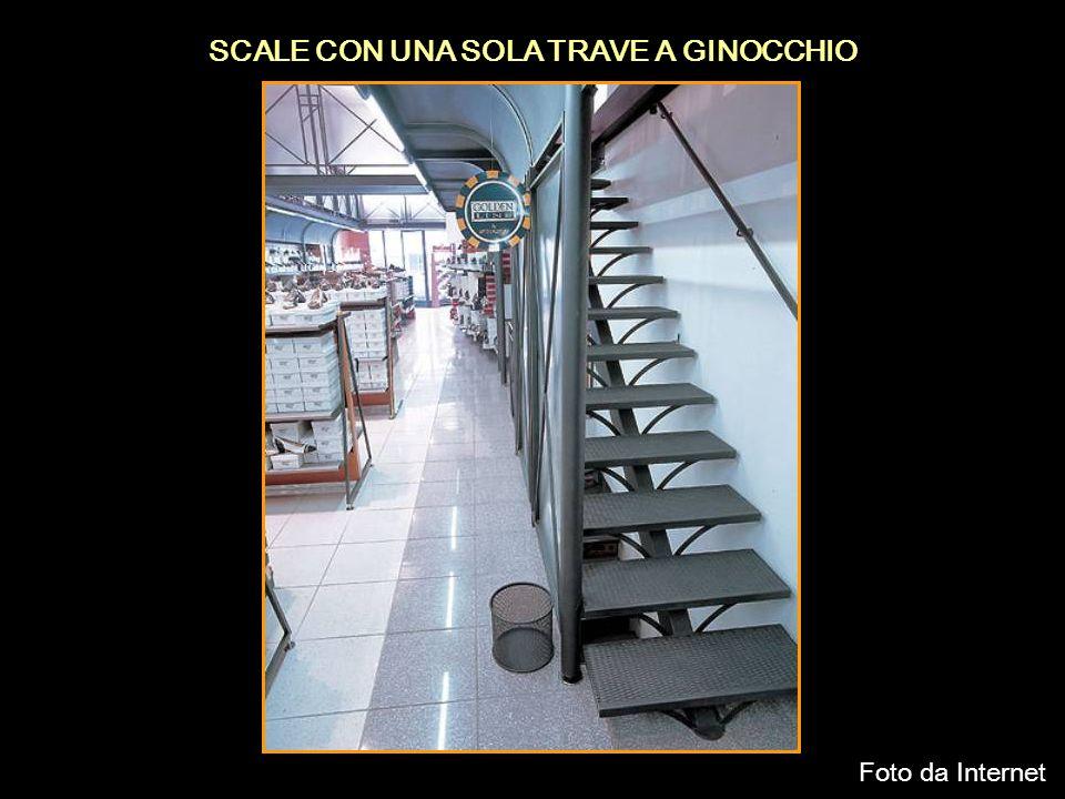 SCALE CON UNA SOLA TRAVE A GINOCCHIO