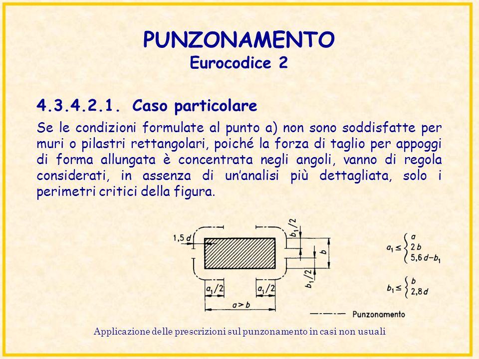 PUNZONAMENTO Eurocodice 2