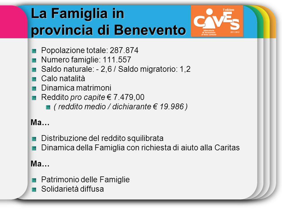 La Famiglia in provincia di Benevento