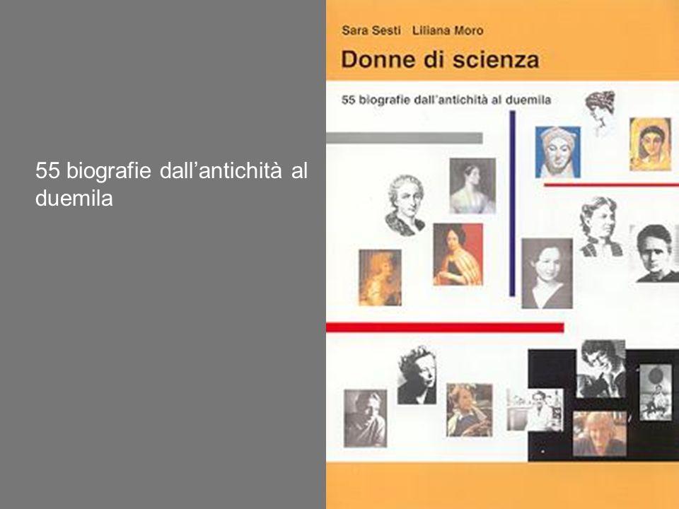 55 biografie dall'antichità al duemila