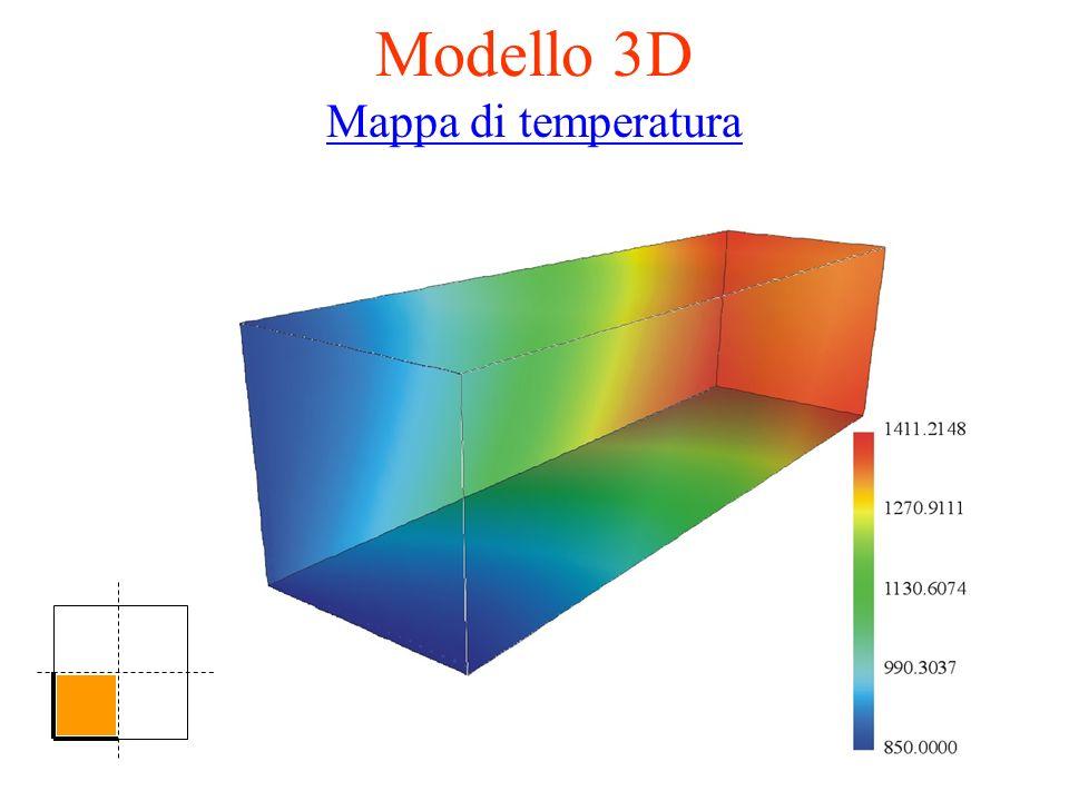 Modello 3D Mappa di temperatura