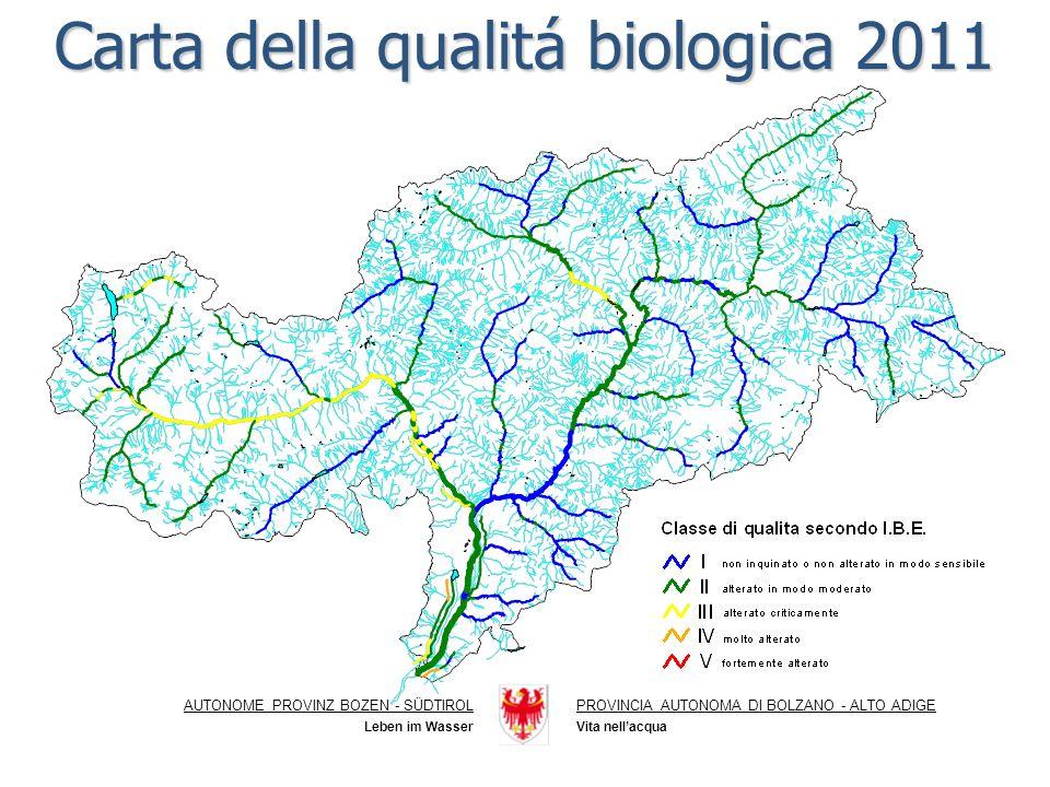 Carta della qualitá biologica 2011