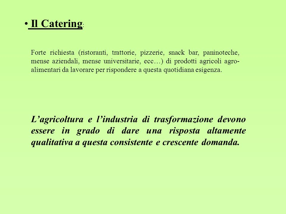 Il Catering: